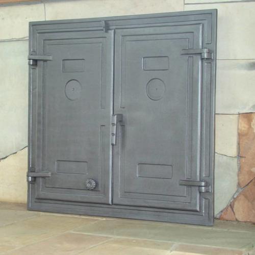 H1503 - Дверца двустворчатая глухая