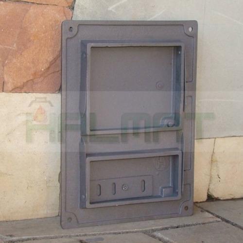 H1621 - Дверца топки с люком для золы с шибером
