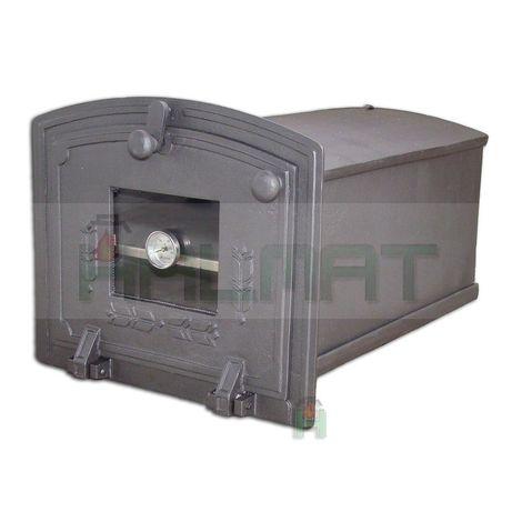 H1904 - Духовка с откидной дверцей, стеклом и термометром