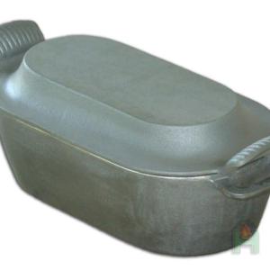 H2526 - Чугунная гусятница с крышкой