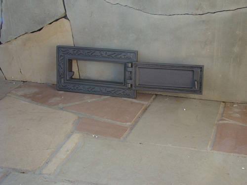 H1607 - Чугунная дверца зольника