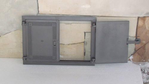 H1105 - Дверца двустворчатая с засовом