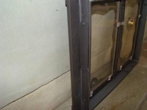 H3504 - Дверца со стеклом и термометром БАТУМИ IV