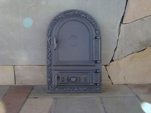 H1511 - Дверца правая с зольником и шибером