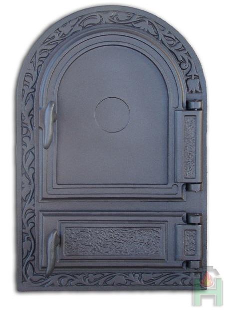 H1510 - Дверца печки правая с зольником