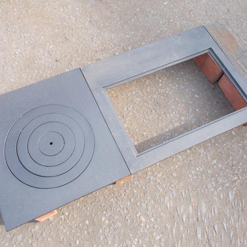H2520 - Набор для гриля с плитами (5 предметов)