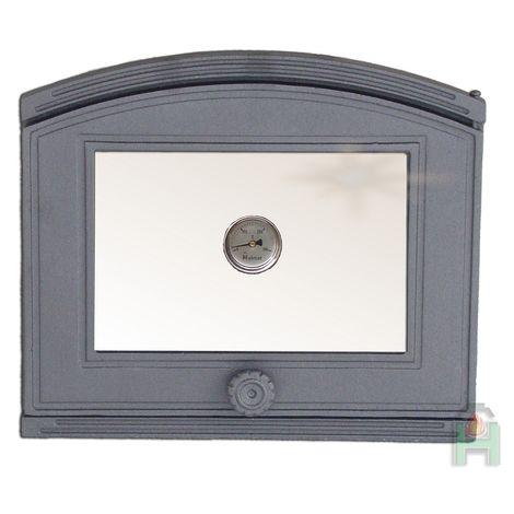 H1804 - Дверца со стеклом и термометром правая