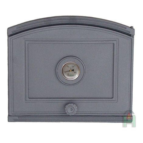 H1808 - Дверца глухая с термометром правая
