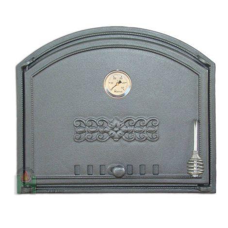 H1203 - Дверца глухая левая с термометром