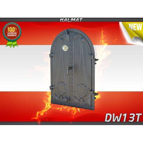 H1524 - Дверца двустворчатая глухая с термометром