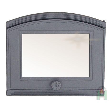 H1802 - Дверца со стеклом правая