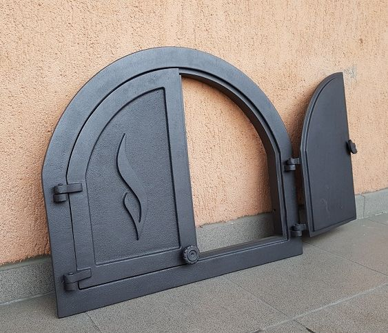 H3901 HUBOS - Чугунная дверца Panama