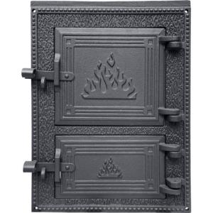 H1627 HUBOS (КОСТЁР) - Дверца топки c люком для золы