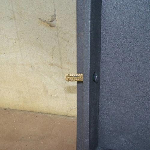 H1623 HUBOS - Дверца топки с шибером ПЛАМЯ