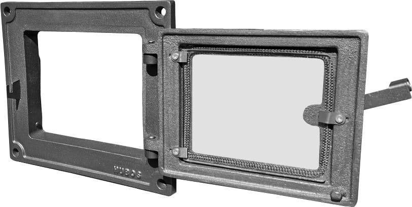 H1625 HUBOS - Дверца топки со стеклом